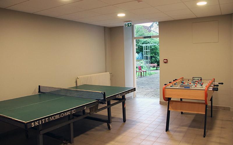 Salle de jeux du logis Saint-François