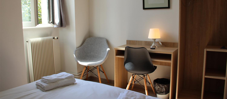 chambre au logis Saint-François en Bourgogne