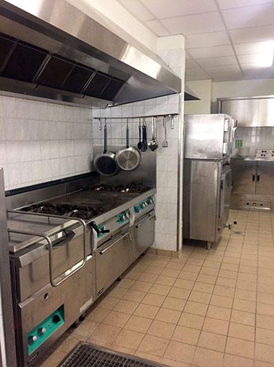 cuisine équipée au Logis Saint-François