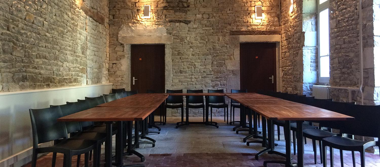 salle de réunion Logis Saint-François